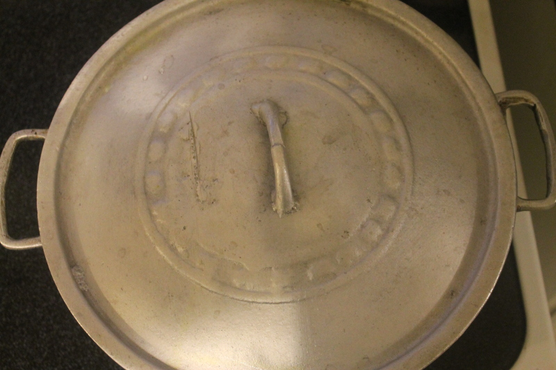 dutch oven pot on stove