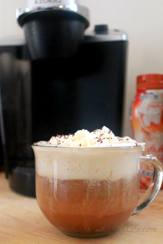 image of coffee with whipped cream on top